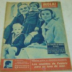 Coleccionismo de Revista Hola: REVISTA HOLA NRO.847-PRINCIPES DE MONACO EN SUIZA-19 AL 25/11/1960. Lote 30998039