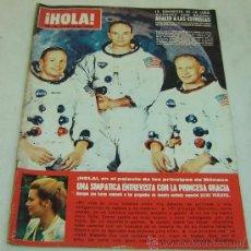 Coleccionismo de Revista Hola - REVISTA HOLA nro.1299-LA CONQUISTA DE LA LUNA-PRINCESA GRACIA DE MONACO-19/07/1969 - 30998186