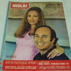 Coleccionismo de Revista Hola: REVISTA HOLA NRO.1378-BEGUM SALIMA MUJER MAS ELEGANTE DEL MUNDO-23/01/1971. Lote 30998235
