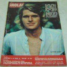 Coleccionismo de Revista Hola: REVISTA HOLA NRO.1820-ALI MAC GRAW Y DEAN PAUL MARTIN-14/07/1969. Lote 30998250