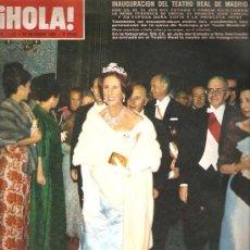 Coleccionismo de Revista Hola: REVISTA ¡ HOLA ! Nº 1.156 OCTUBRE DE 1966. Lote 31171408