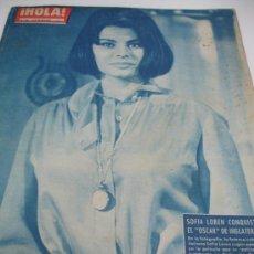 Coleccionismo de Revista Hola: REVISTA HOLA SOFIA LOREN. Lote 31308723