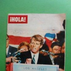 Coleccionismo de Revista Hola: ¡HOLA! Nº 1.242 15-06-1968 EL ASESINATO DE BOB KENEDY - PETER SELLERS. Lote 31514217
