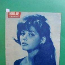 Coleccionismo de Revista Hola: ¡HOLA! Nº 893 07-10-1961 CLAUDIA CARDINALE - YVES SAINT LAURENT - MARILYN MONROE - SOFIA LOREN. Lote 31585709