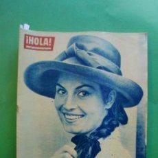 Coleccionismo de Revista Hola: ¡HOLA! Nº 939 25-08-1962 MARILYN MONROE - MARLON BRANDO - MARISOL EN UN PLANO DE TOMBOLA. Lote 31593803