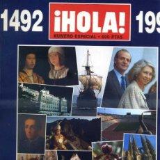 Coleccionismo de Revista Hola: REVISTA HOLA ESPECIAL ESPAÑA'92, 436 PÁGINAS. Lote 31733294