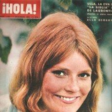 Coleccionismo de Revista Hola: REVISTA ¡ HOLA ! Nº 1.162 DICIEMBRE DE 1966 . Lote 31881963