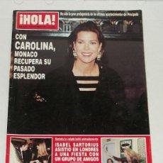 Coleccionismo de Revista Hola: REVISTA HOLA / NOVIEMBRE 1993.. Lote 31960096