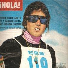 Coleccionismo de Revista Hola: REVISTA ¡ HOLA ! Nº 1.585 ENERO DE 1975 . Lote 31995483