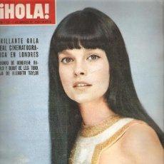 Coleccionismo de Revista Hola: REVISTA ¡ HOLA ! Nº 1.332 MARZO DE 1970 . Lote 32025488