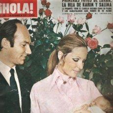 Coleccionismo de Revista Hola: REVISTA ¡ HOLA ! Nº 1.367 NOVIEMBRE DE 1970 . Lote 32137177