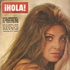Coleccionismo de Revista Hola: REVISTA ¡ HOLA ! Nº 1.424 DICIEMBRE DE 1971 . Lote 32453490