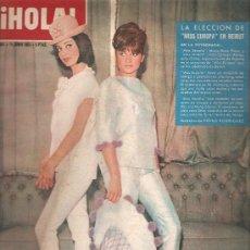 Coleccionismo de Revista Hola: REVISTA ¡ HOLA ! Nº 981 JUNIO DE 1963. Lote 32453680