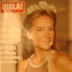 Coleccionismo de Revista Hola: HOLA Nº3296 AÑO 2007 TAMARA FALCO PREYSLER COMO UNA PRINCESA EN PARIS,..ENTREVISTA Y FOTOGRAFIAS. Lote 32471374