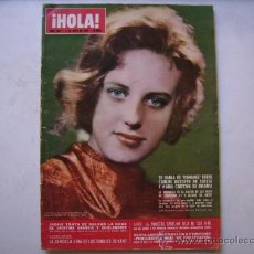 Coleccionismo de Revista Hola: HOLA,INDIRA GANDHI-ALAIN DELON-TARYN POWER-GUNTER SACHS-. Lote 32556964