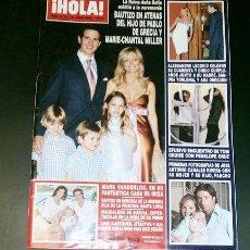 Coleccionismo de Revista Hola: REVISTA HOLA Nº 3178 DE 30 DE JUNIO 2005-PORTADA ALEJANDRO LEQUIO Y ANA OBREGON. Lote 32617574