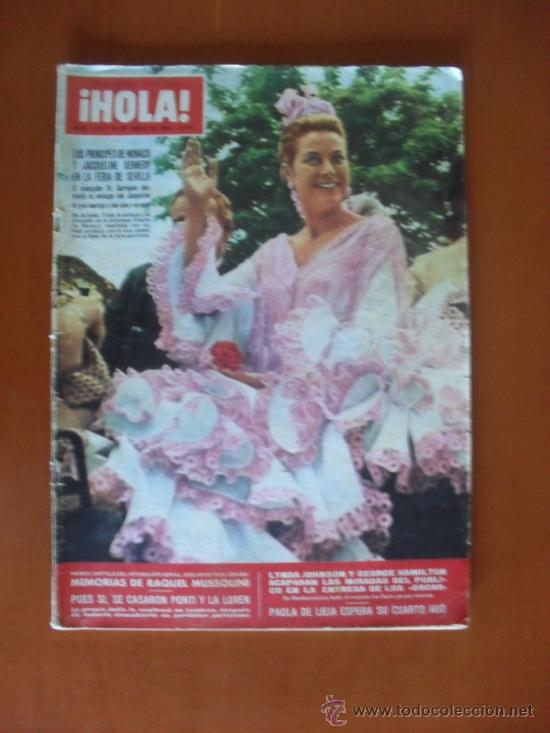 ¡HOLA! Nº 1131 - AÑO 1966 - PORTADA PRINCESA GRACIA DE MÓNACO * (Coleccionismo - Revistas y Periódicos Modernos (a partir de 1.940) - Revista Hola)