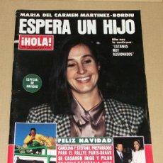 Coleccionismo de Revista Hola: REVISTA HOLA / DICIEMBRE 1984.. Lote 33024629