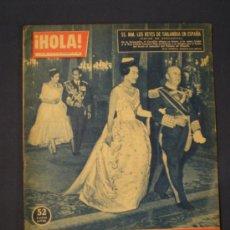 Coleccionismo de Revista Hola: REVISTA HOLA NOVIEMBRE DEL 60. Lote 33688251