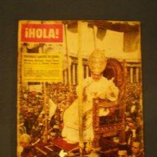 Coleccionismo de Revista Hola: REVISTA HOLA JULIO DEL 63. Lote 33688294