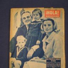 Coleccionismo de Revista Hola: REVISTA HOLA - NOVIEMBRE DEL 60 - PRINCIPES DE MONACO. Lote 33688364