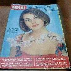 Coleccionismo de Revista Hola: REV.-HOLA 4/1966 .- PIA LINDSTRONG.AMPLIO RPTJE.CARLOS LARRAÑAGA Y MªLUISA MERLO,LOS KENNEDY,M. VITT. Lote 34118525