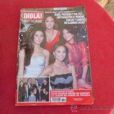 Coleccionismo de Revista Hola: REVISTA ¡HOLA! NUMERO 3.309 2 ENERO 2008 REV-93. Lote 34307058