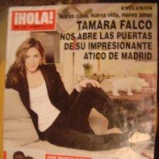 Coleccionismo de Revista Hola: HOLA! Nº 3468 AÑO 2011-- TAMARA FALCO- JOHN TRAVOLTA- JAYDY MICHEL- FONSI NIETO. Lote 34324466