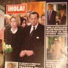 Coleccionismo de Revista Hola: HOLA! Nº 3421 AÑO 2010.SOFIA DE HABSBURGO- PENELOPE- INFANTA ELENA LOS PRINCIPES. Lote 34324566