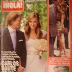 Coleccionismo de Revista Hola: HOLA! Nº 3490 AÑO 2011.CALOS BAUTE- TAMARA FALCO- LOS PRINCIPES DE ASTURIAS. Lote 34325073