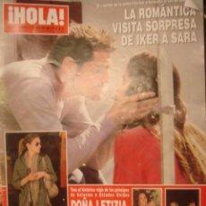 Coleccionismo de Revista Hola: HOLA 3544.JULIO 2012/ IKER Y SARA/DOÑA LETIZIA A LA MODA/ NATY ABASCAL/ ISABEL PREYSLER Y TAMARA. Lote 34360397