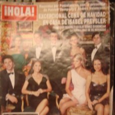Coleccionismo de Revista Hola: HOLA Nº 3413.DIC 2009/ CENA DE NAVIDAD CON PATRICK DEMPSEY Y FAMILIA PREYSLER/ PRINCIPES DE ASTURIAS. Lote 34360577