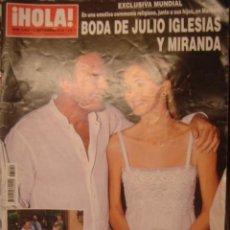 Coleccionismo de Revista Hola: HOLA Nº 3449-SEPT 2010/BODA JULIO IGLESIAS Y MIRANDA/DUQUESA DE ALBA/. Lote 34360643