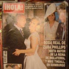 Coleccionismo de Revista Hola: HOLA Nº 3546 JULIO 2012/BODA GEMMA RUIZ Y JUAN DIAZ/IRENE VILLA Y JUAN PABLO/BODA INIESTA. Lote 34360686