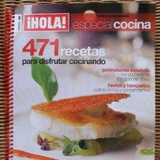 Coleccionismo de Revista Hola: REVISTA DE COCINA HOLA NUMERO ESPECIAL DICIEMBRE 2010. Lote 34407841
