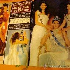 Coleccionismo de Revista Hola: MISS MUNDO. INFANTA CRISTINA. REVISTA HOLA.. Lote 34467604