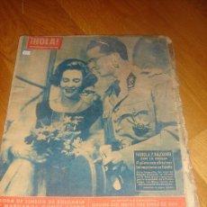 Coleccionismo de Revista Hola: REVISTA HOLA \ ENERO-FEBRERO 1962. Lote 34651579