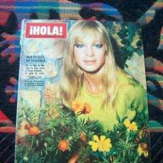 Coleccionismo de Revista Hola: REVISTA HOLA 1967 MARISOL, PEPA FLORES, SANDIE SHAW, DIANE BAKER, CLAUDIA CARDINALE, BRIGITTE BARDOT. Lote 34793782
