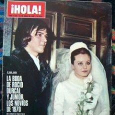 Coleccionismo de Revista Hola: REVISTA HOLA 1970 / BODA DE ROCIO DURCAL, SYLVIE VARTAN, JEAN SHRIMPTON, CLAUDIA CARDINALE, MARISOL. Lote 176859995