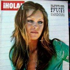 Coleccionismo de Revista Hola: REVISTA HOLA 1972 / MARISOL, MISS EUROPA, SOPHIA LOREN, FAMILIA REAL ESPAÑOLA. Lote 34810622