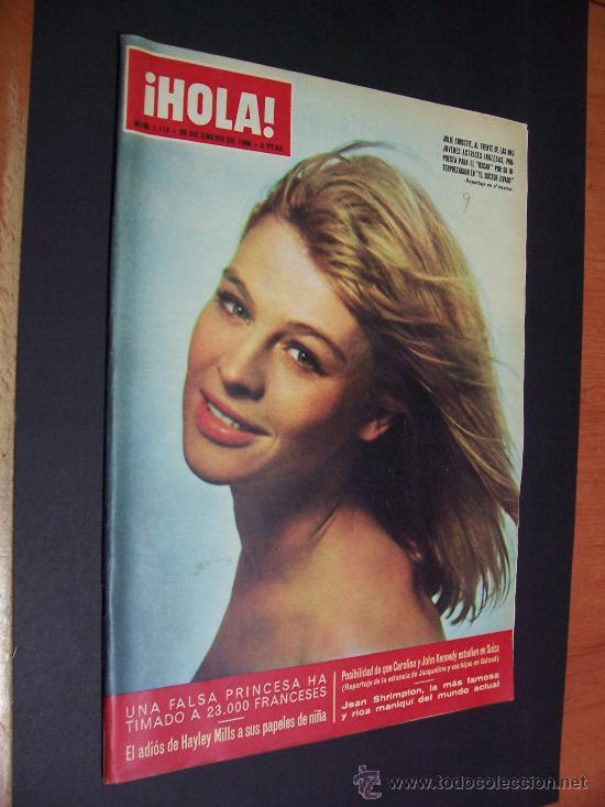 ¡ HOLA ! - Nº 1118 - 29 DE ENERO DE 1966 - 8 PTS. (Coleccionismo - Revistas y Periódicos Modernos (a partir de 1.940) - Revista Hola)