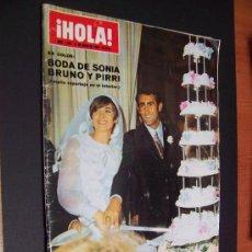 Collezionismo di Rivista Hola: ! HOLA ¡ - Nº 1295 - 21 DE JUNIO DE 1969 - 10 PTS. Lote 35315914