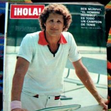 Coleccionismo de Revista Hola: REVISTA HOLA / KATE JACKSON, JOCELYN LANE, ROMY SCHNEIDER, SALVADOR DALI, BEN MURPHY, ANDRESS. Lote 35317805