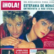 Coleccionismo de Revista Hola: REVISTA HOLA Nº 2199 DE OCTUBRE DE 1986. Lote 35398306