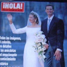 Coleccionismo de Revista Hola: REVISTA HOLA.. Lote 35657234