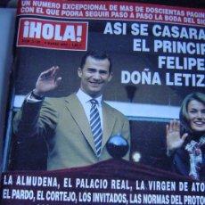Coleccionismo de Revista Hola: REVISTA HOLA.. Lote 35657286