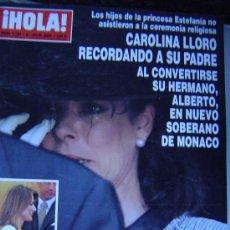Coleccionismo de Revista Hola: REVISTA HOLA.. Lote 35657474