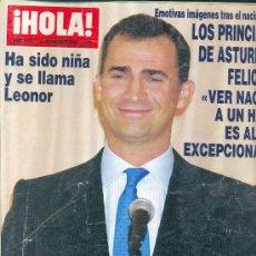 Coleccionismo de Revista Hola: HOLA 3197 DEL 2005. Lote 35781822