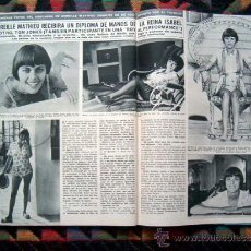 Coleccionismo de Revista Hola: REVISTA HOLA 1969 / MIREILLE MATHIEU, FARAH DIBA, MARIA CALLAS, Y ++++. Lote 35864286