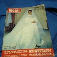 Coleccionismo de Revista Hola: ¡ HOLA ! NÚMERO 1325 - 17 DE ENERO DE 1970 - 10 PESETAS. Lote 35920135